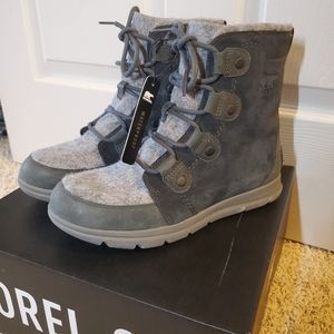 Sorel Joan Explorer Boots Coal